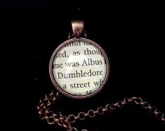 Harry Potter Pendant Necklace - Albus Dumbledore