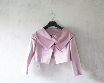 Pink jacket from Moschino