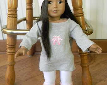 American Girl Doll Ballet Warm Up