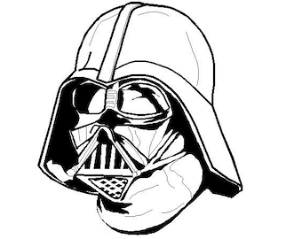 Darth Vader from Star Wars - Machine Embroidery Design INSTANT DOWNLOAD