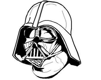 Star Wars embroidery design Darth Vader - INSTANT DOWNLOAD