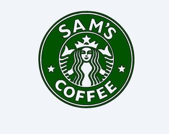 Personalized Starbucks Logo