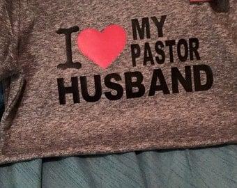 I love my pastor husband