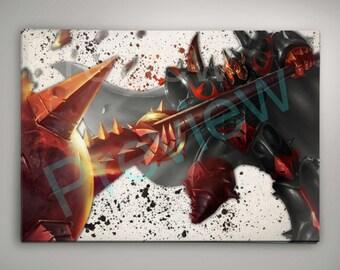 Mordekaiser League of Legends Wall Art
