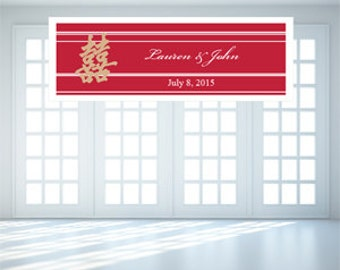 Personalized Asian Theme Banners (FJM886882-BN)