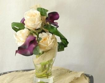 Roses and Calla arrangement