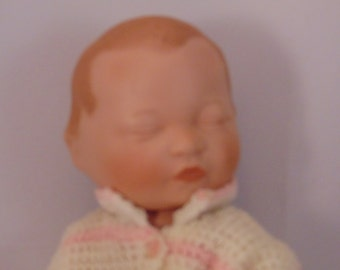 Yolanda Bello Beautiful Newborn Porcelain Doll