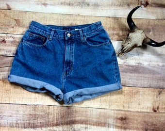 Size 12 Vintage High-Waisted Shorts