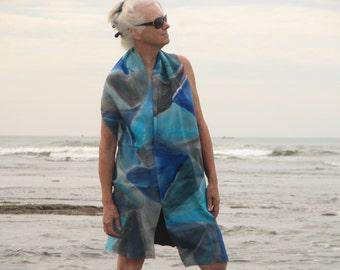 Sea silk scarf
