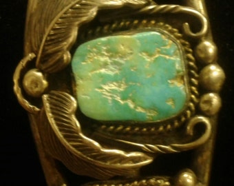 Turquoise and Sterling Cuff Bracelets