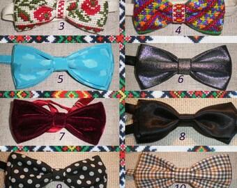 DIY -  bow ties hand made from Fashion Studio