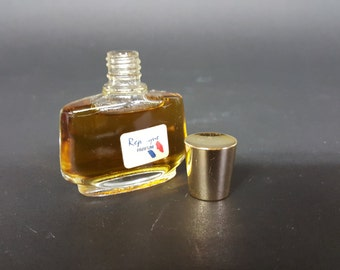 French Vintage Perfume Replique by Raphael Almost Full Bottle Original Label and Gold Metal Cap