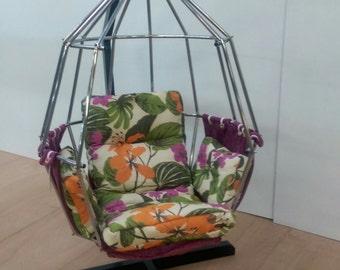 Floral Parrot chair