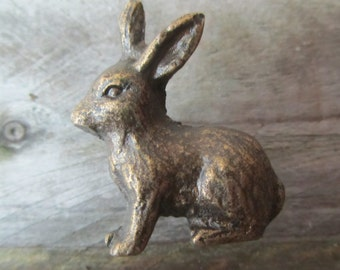 Woodland Rabbit Drawer Knob Pull