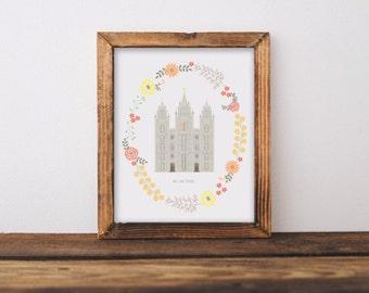 Custom Temple Illustration
