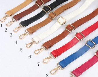 Leather Purse Strap Adjustable Crossbody Shoulder Replacement