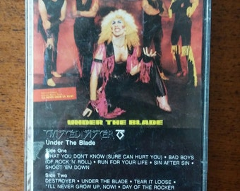 Twisted Sister - Under the Blade Casette