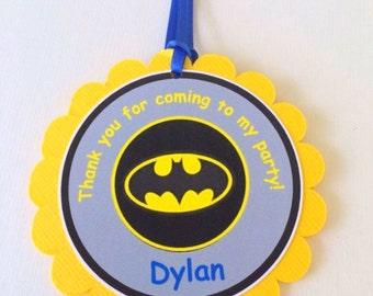 Batman Favor Tags