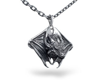 Dragon Jewelry, Dragon gift, Smaug Necklaces - sterling silver / Dragon pendant / Fantasy dragon