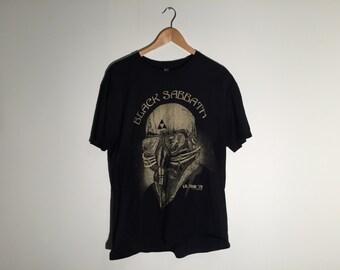 BLACK SABBATH TOUR 78 Promo T-Shirt