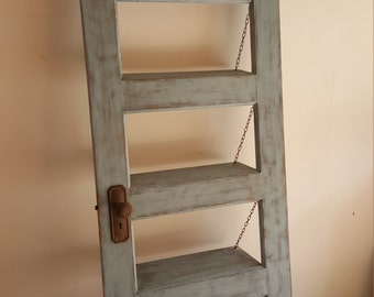 Up-Cycled Vintage Door Bookshelf