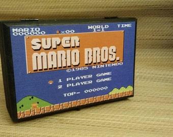 Super Mario Bros inspired storage box