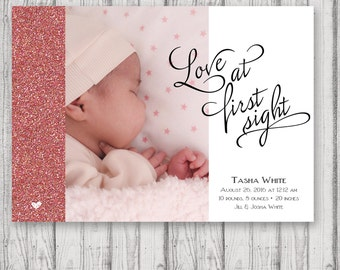 Love at First Sight - Baby Annoucement