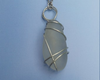 Simple Sea Glass Pendant
