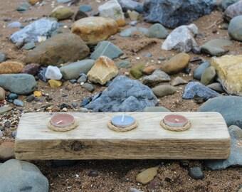 Handmade Driftwood Tealight Holder