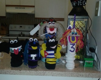 Hilarious Handmade Sock Puppets