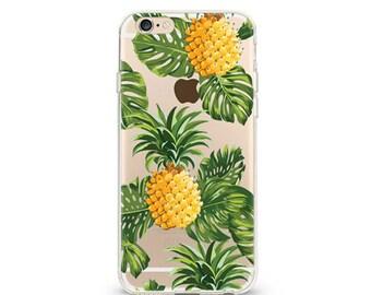 Jungle Fruit - iphone 7 case, clear iphone 7 case, clear iphone 7 case ,slim iphone 7 cases, Hard Iphone 7 case