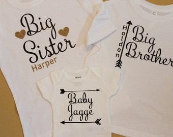 Big Sister Shirt, Big Brother Shirt, New Baby Onesie, Big Sis Shirt, Big Bro Shirt, Big Brother Shirt, Big Sister, Big Sister Shirt, Lil Bro