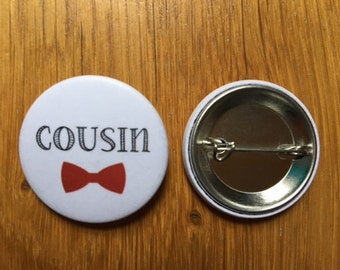 Badge marriage Cousin