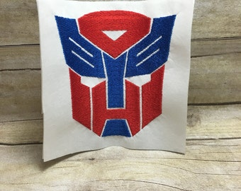 Transformers Embroidery Design, Transformers Logo Embroidery Design