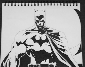 The Dark Knight in Ink.