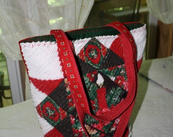 Christmas Chenille Tote