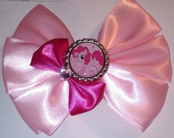 My little pony pink hair bow