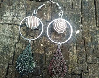 Ethnic inspired pendants