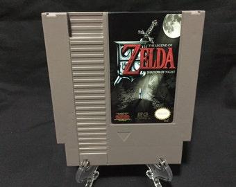 Legend of Zelda Shadow of Night Nintendo NES Game