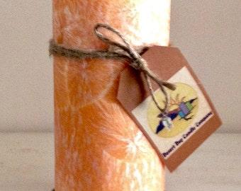 """3"""" x 6""""  Palm Wax Pillar Candle"""