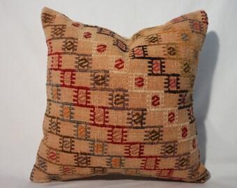 Handwoven Kilim Pillow Cover