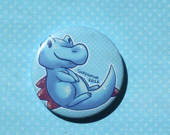 Pokemon Totodile Pinback Button