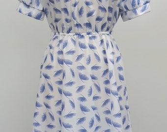 70s Dandilion Design Dress