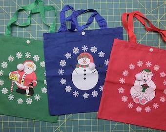 Christmas Gift Bags - Set of 3