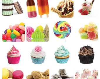 Sweets & Candy Stickers