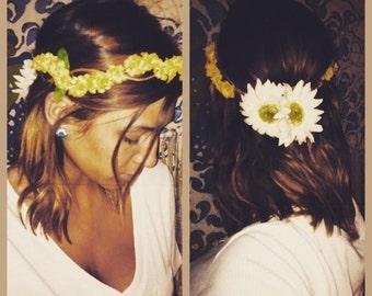 Handmade Daisy Flower Crown
