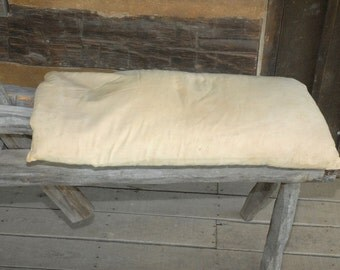 Vintage Feather Pillow