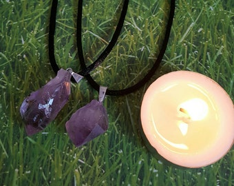 Amethyst Pendant Necklace