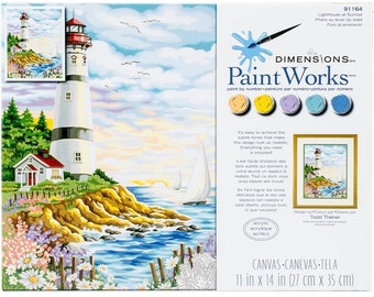 Paint by Number-Adult-Lighthouse