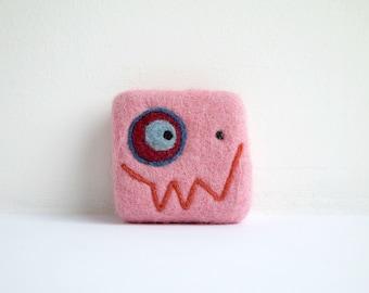 Felted soap - Light pink